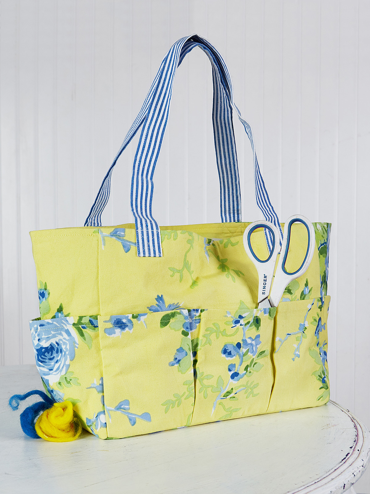 Fairground Patchwork Carry-It-All Tote
