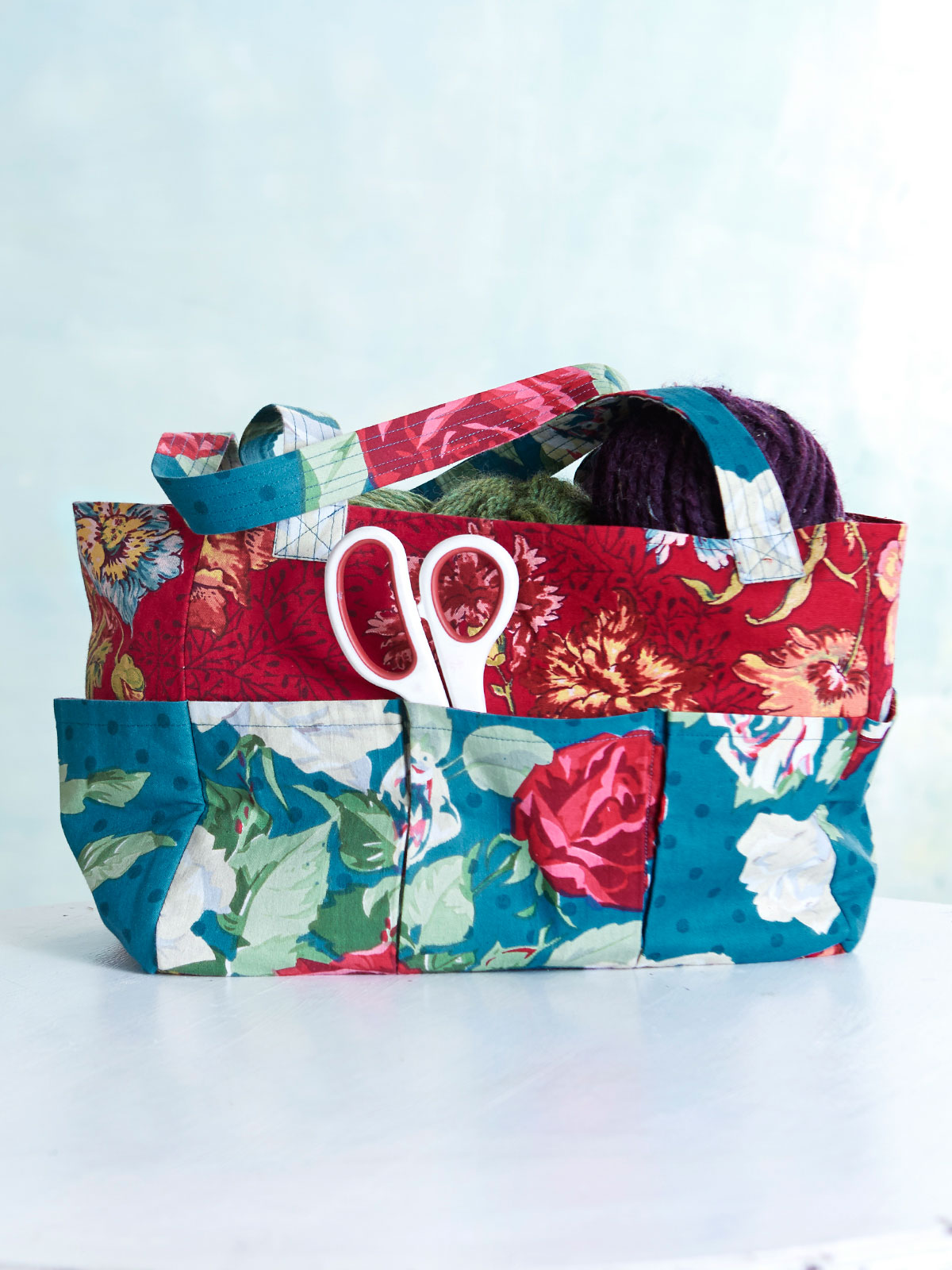 Jewel Patchwork Carry-It-All Tote