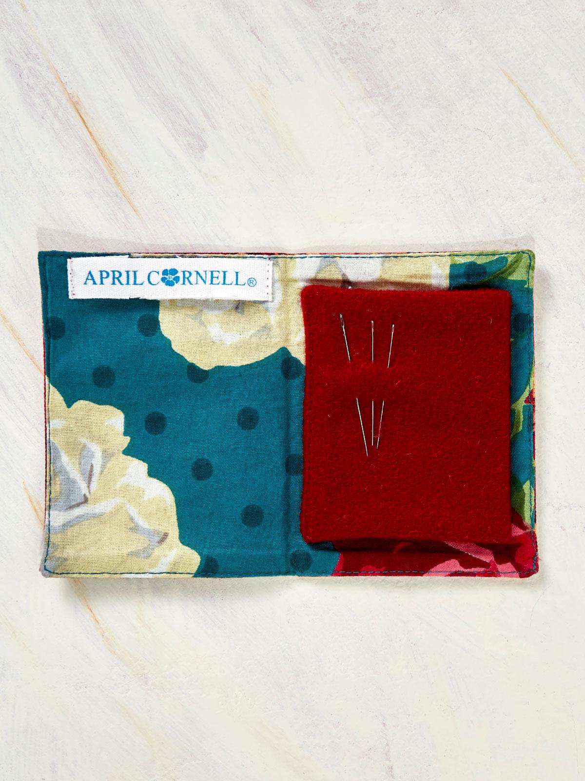 Jewel Patchwork Needle Book