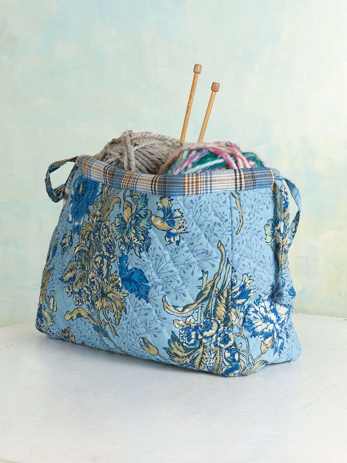 Jaipur Garden Knitters Bag