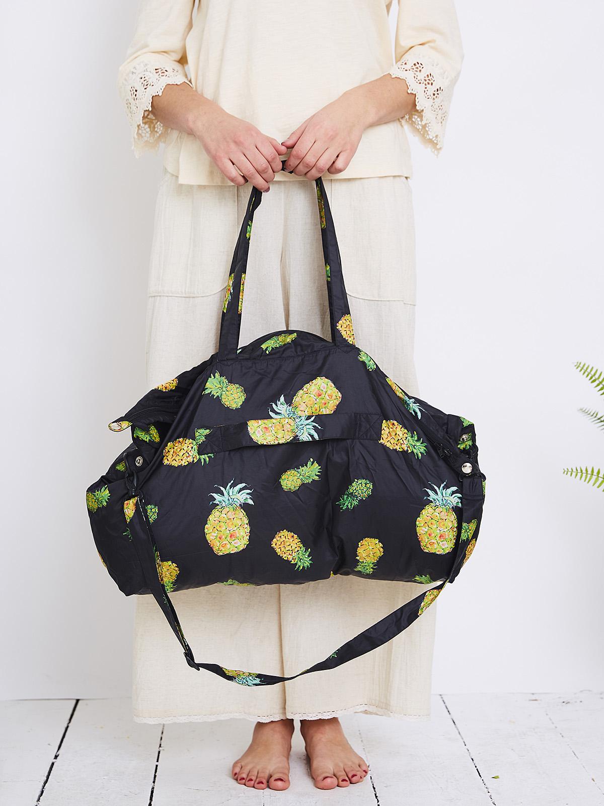 Pineapple Around The World Bag