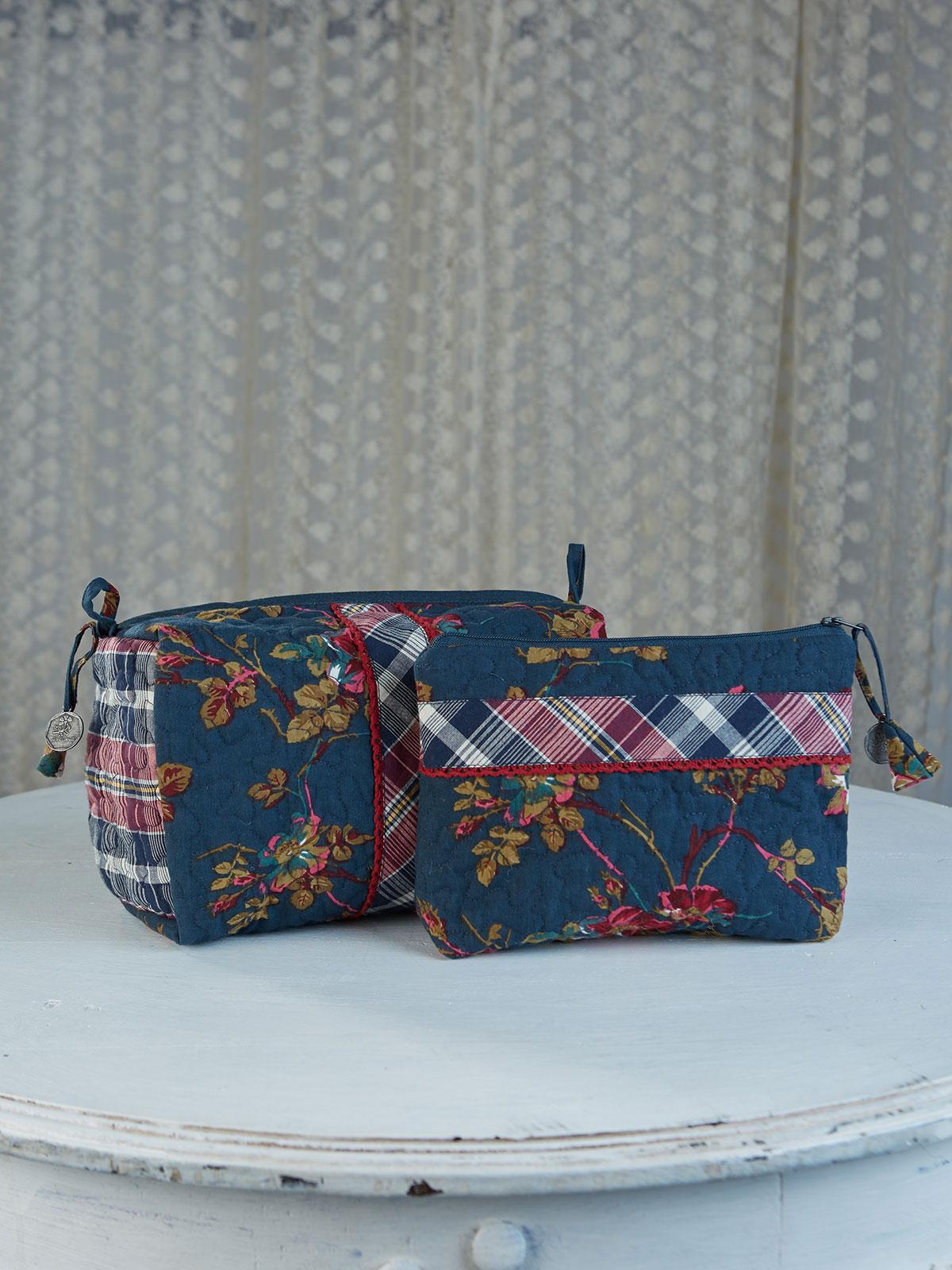 Wild Rose Cosmetic Bag Set