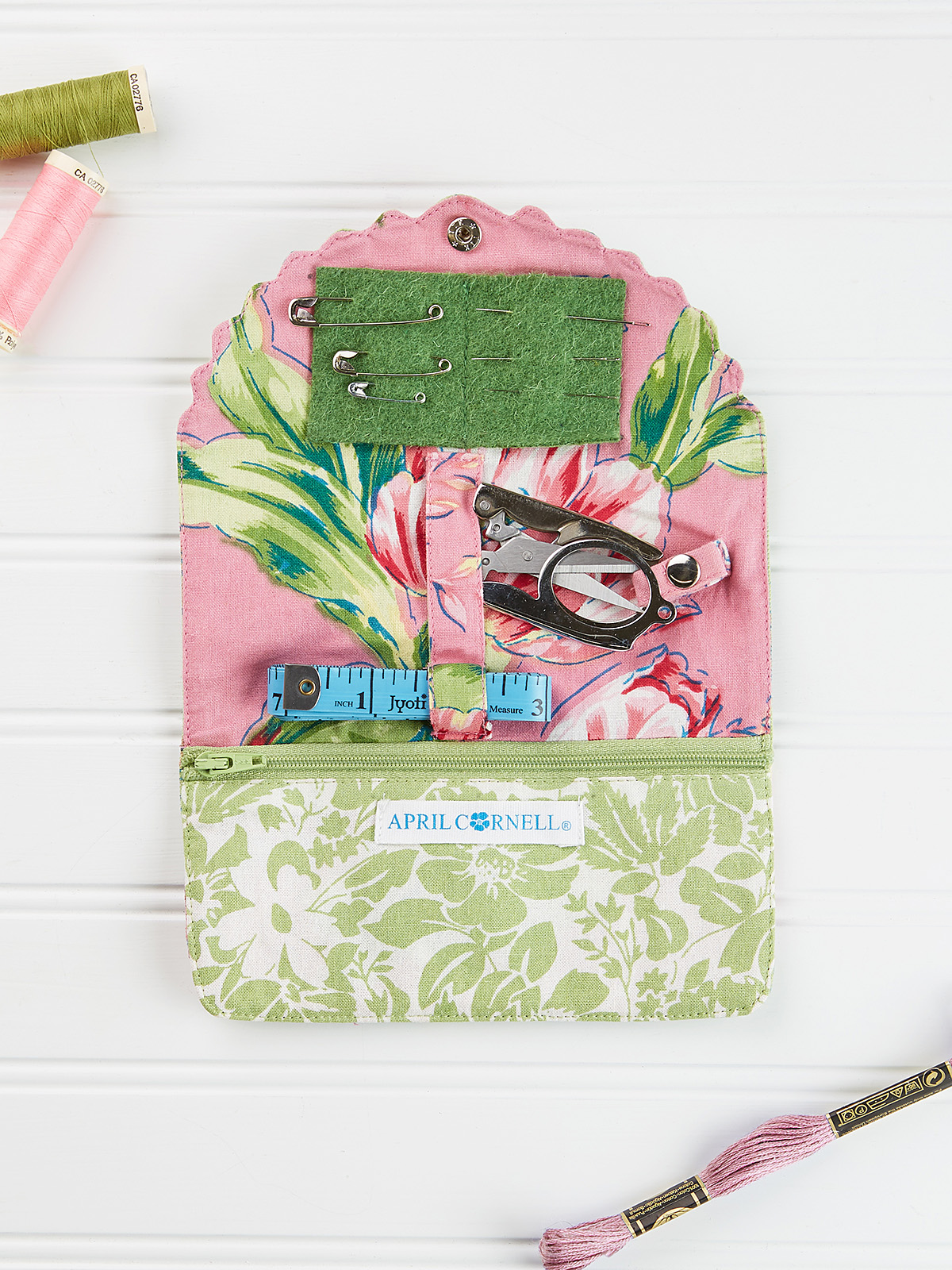 Spring Bouquet Patchwork Sewing Kit