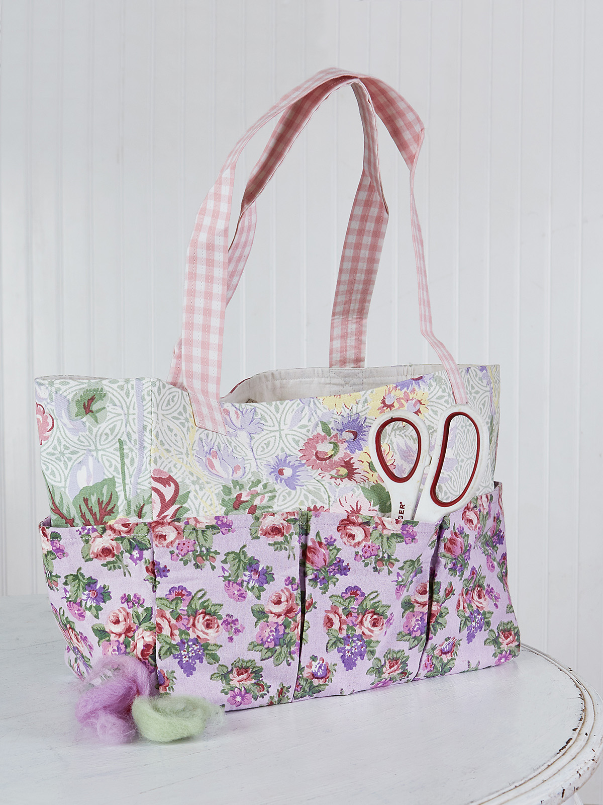 Tea Garden Patchwork Carry-It-All Tote