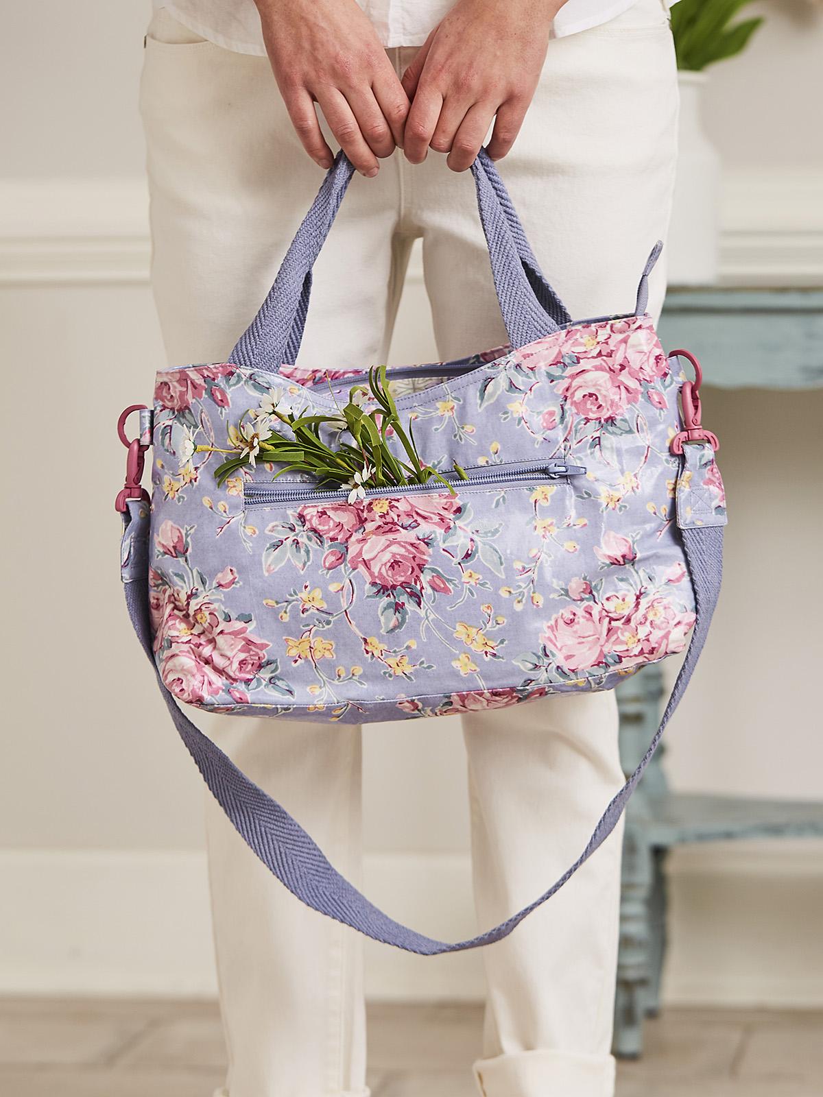 Viola Rose Moon Bag