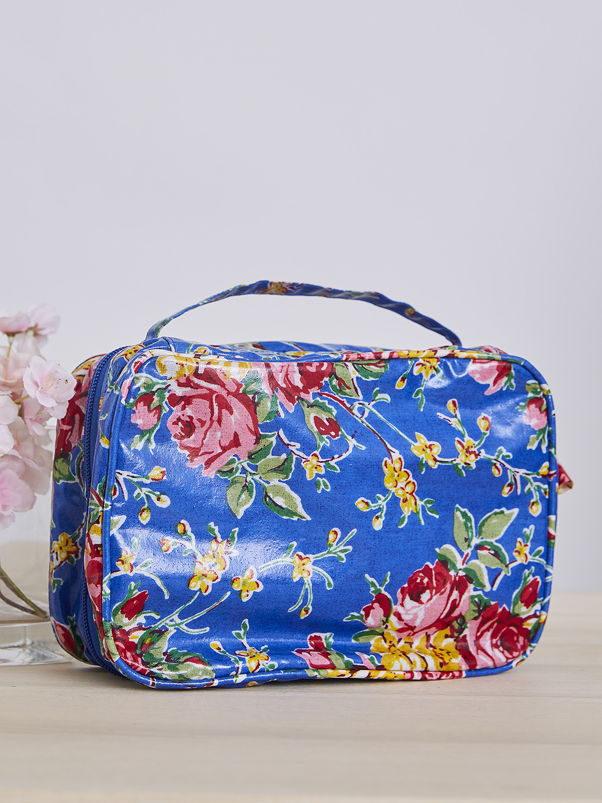 Viola Rose Cosmetic Travel Case