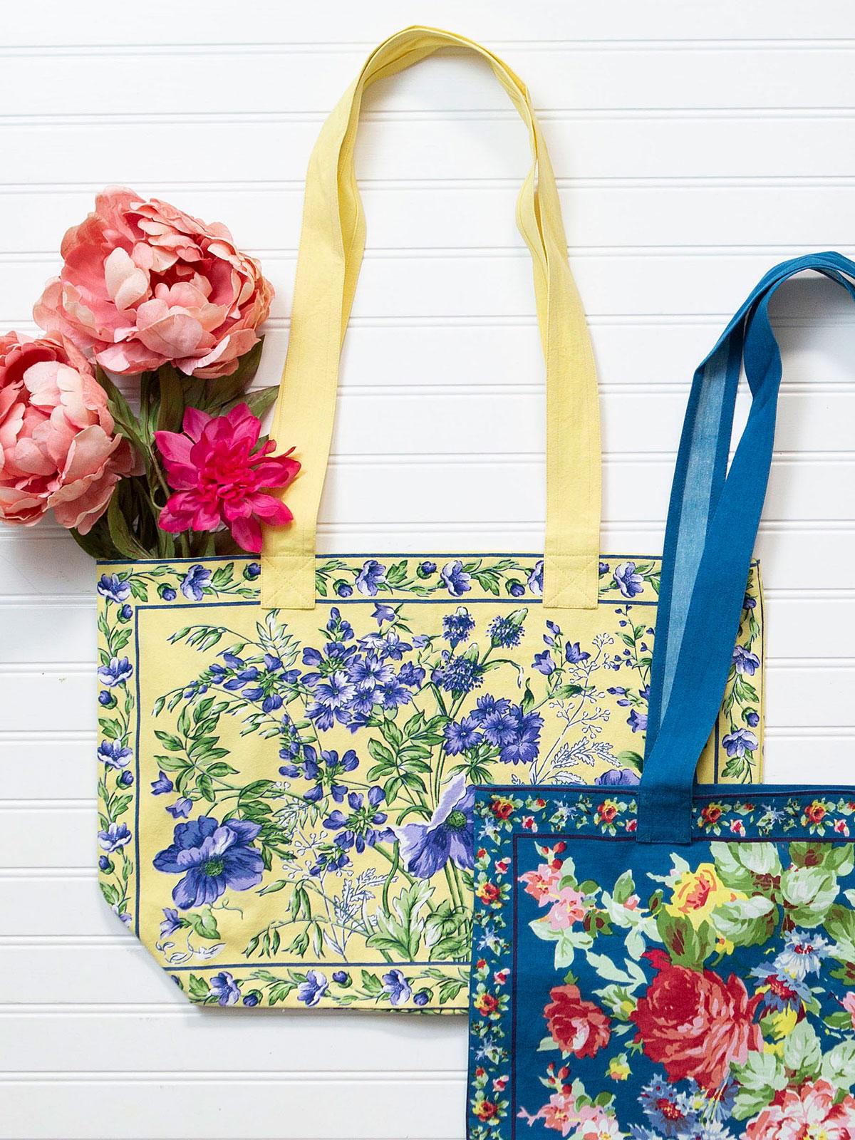 Wildflower Meadow Market Bag