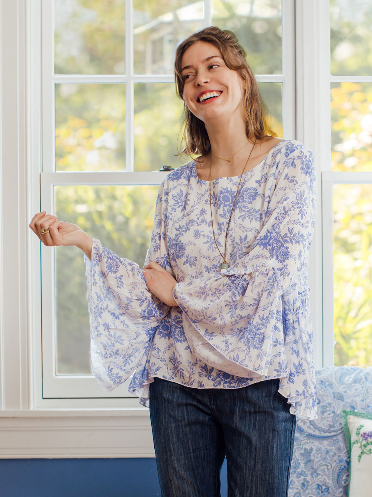 Felicity Peasant Blouse