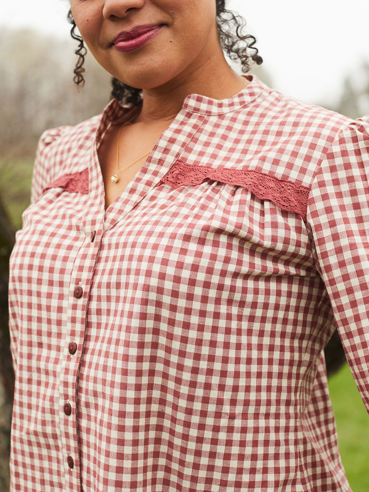 Country Rose Blouse