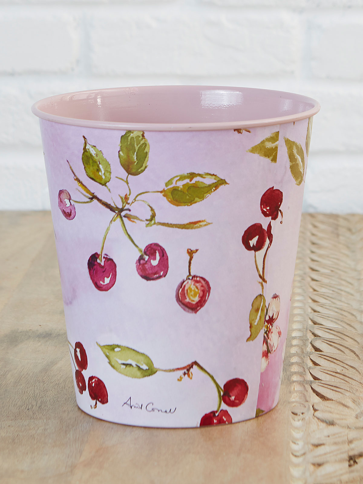 Cherries Just Right Bucket