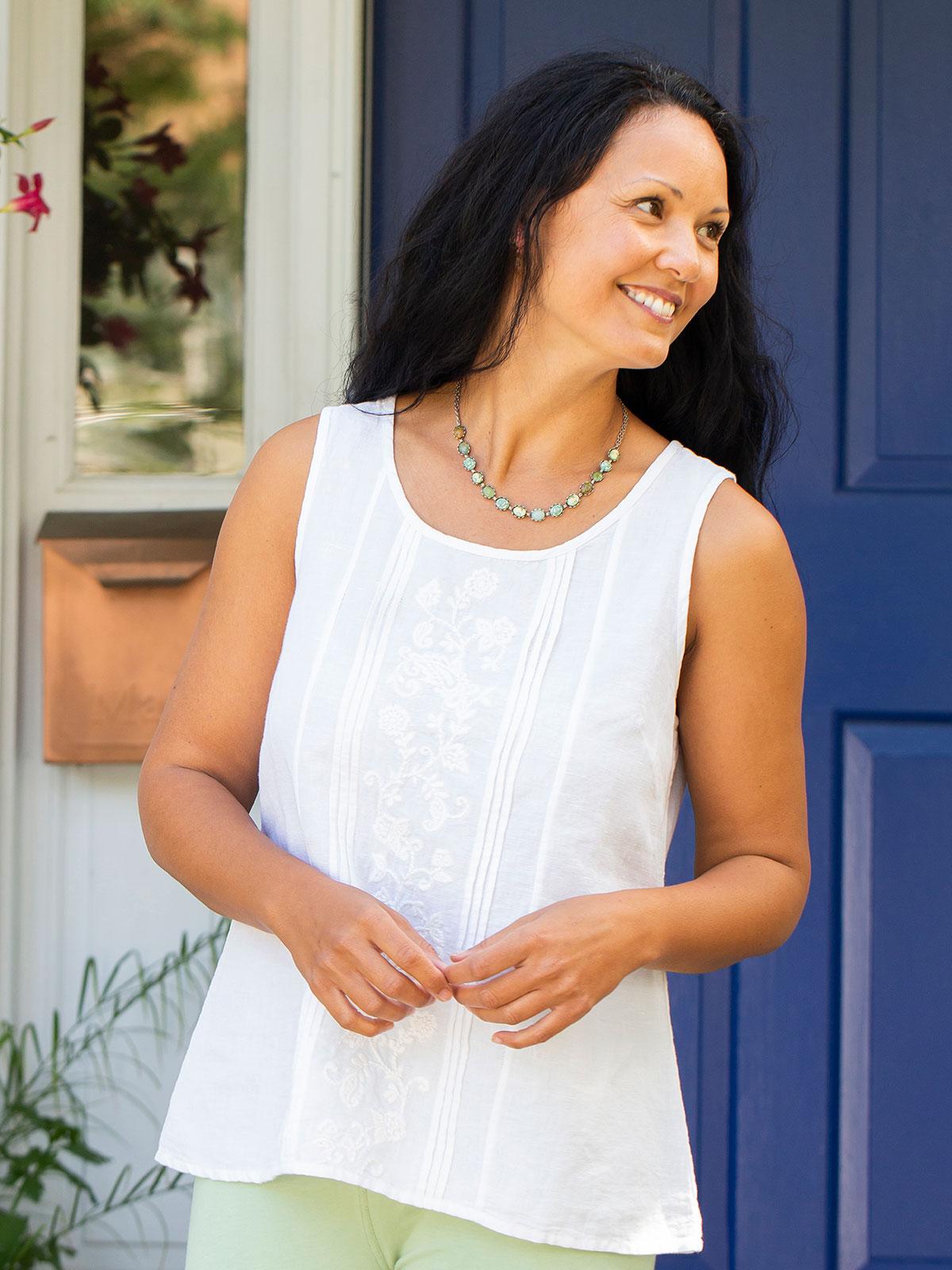 Leticia Linen Camisole