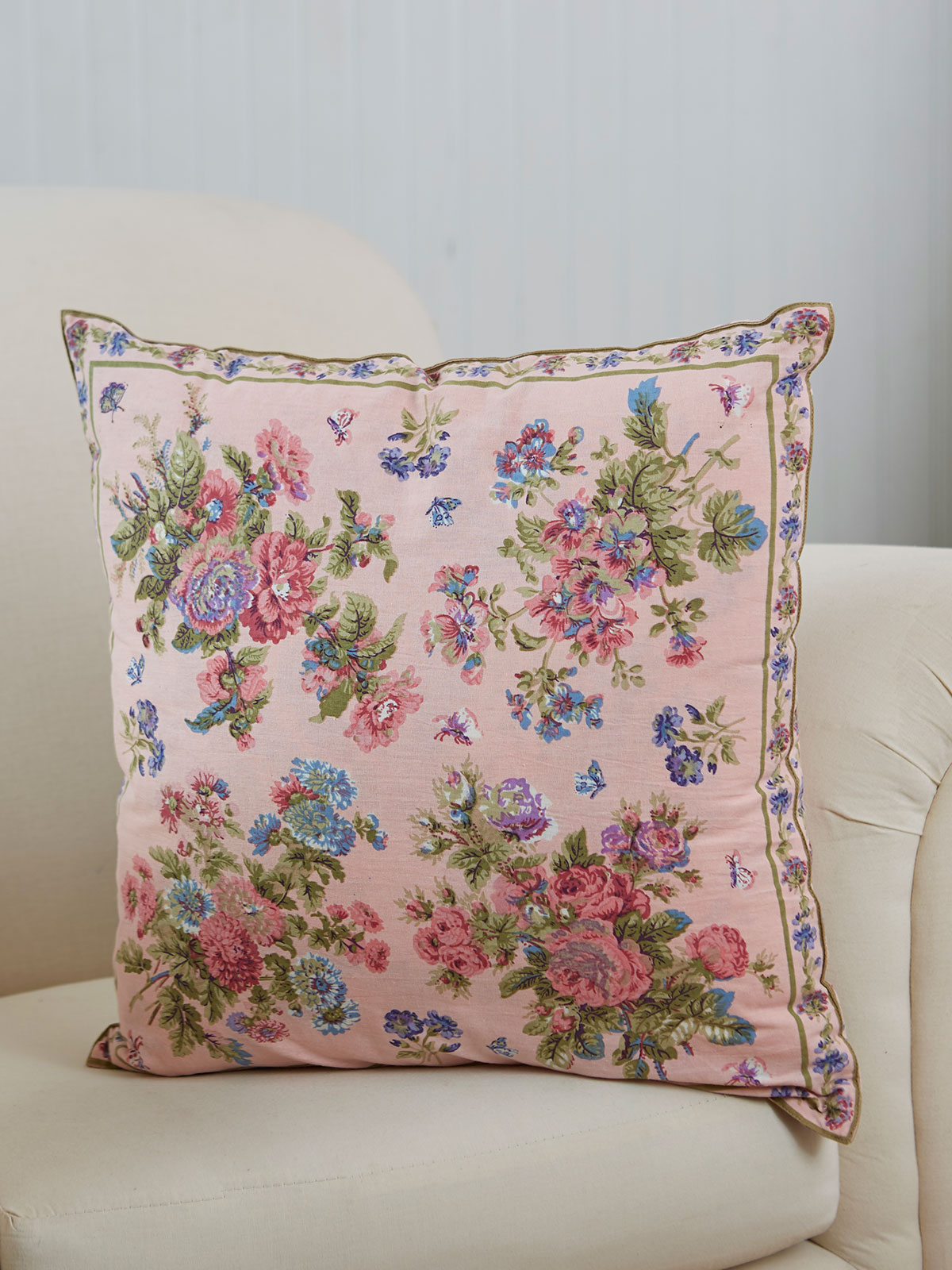 Artist Garden Cushion Cover