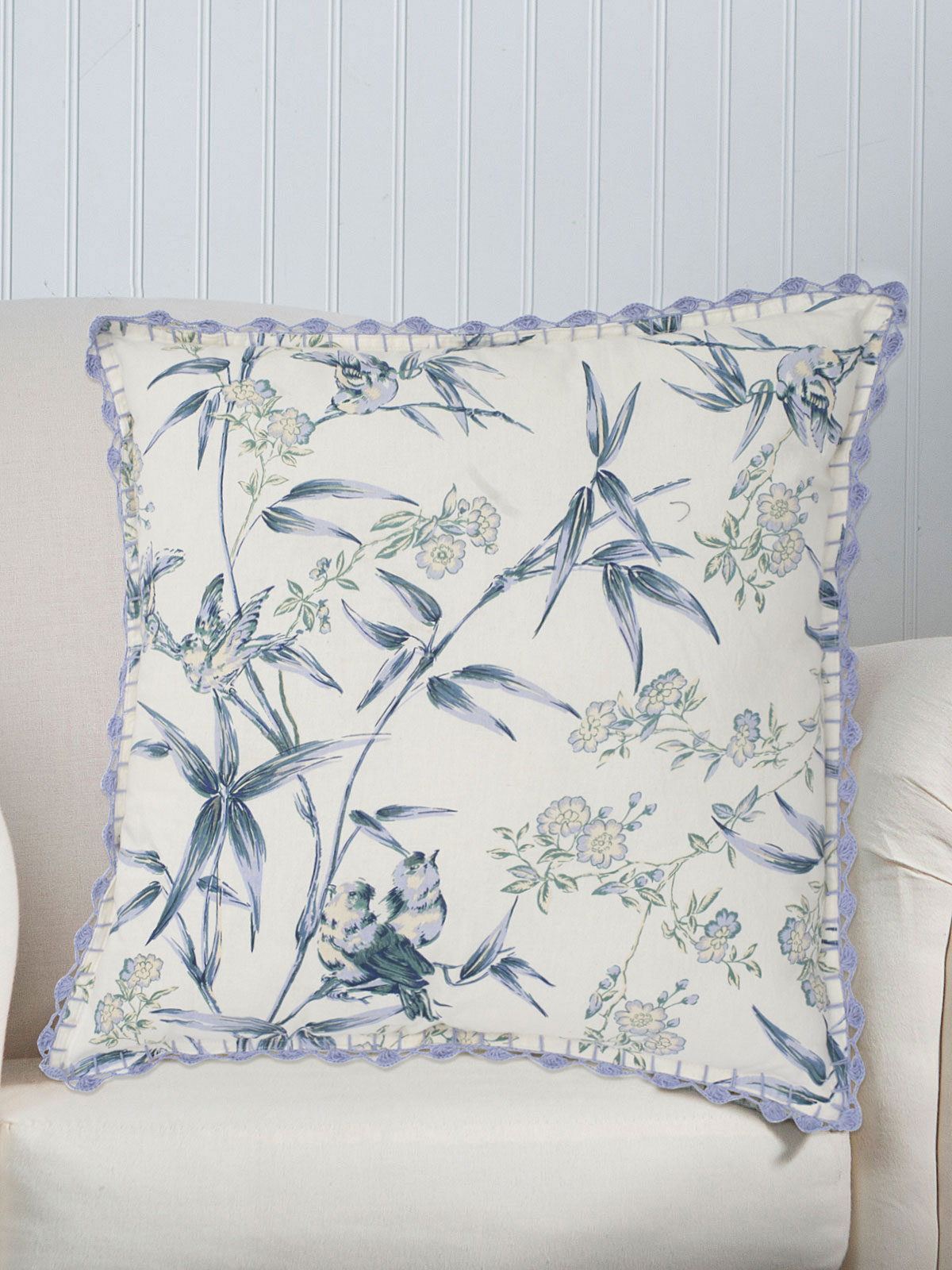 Bamboo Garden Cushion Cover