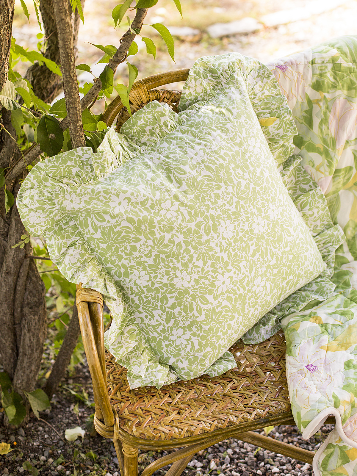 Madison Flower Cushion Cover