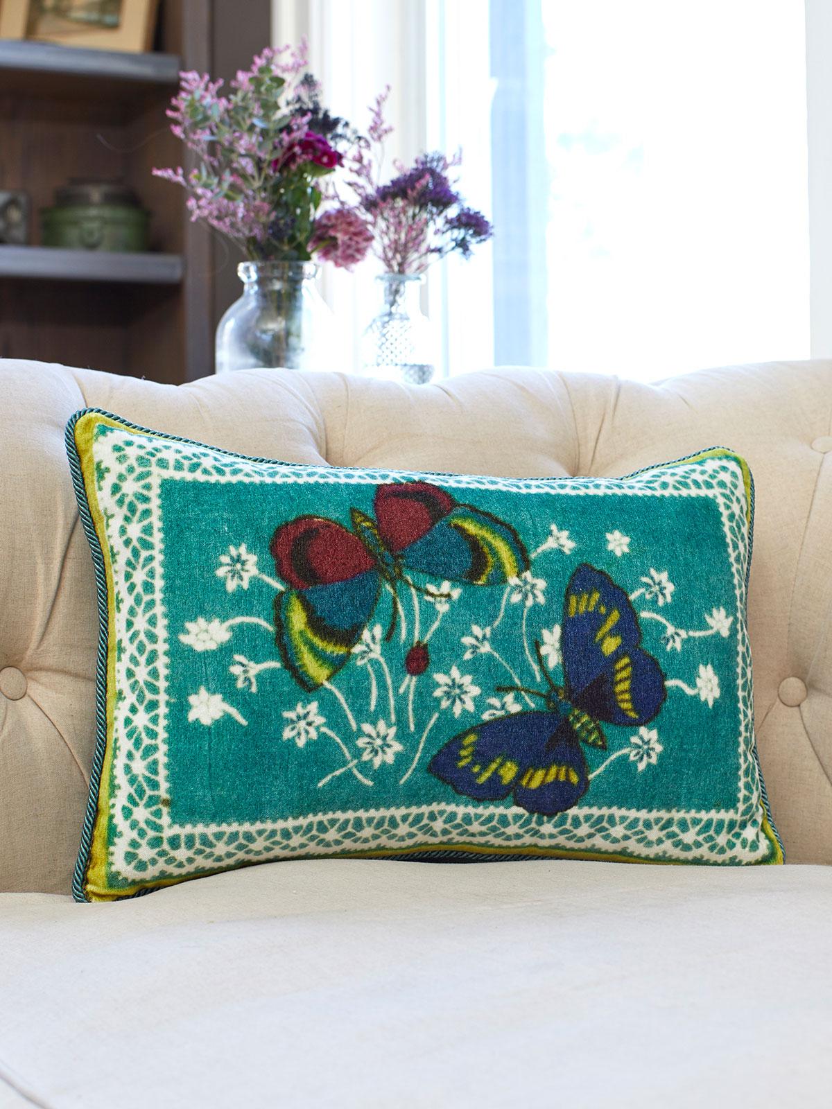 Mariposa Velvet Cushion