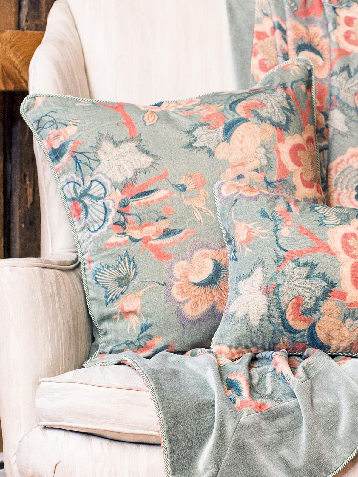 Odyssey Velvet Cushion Cover