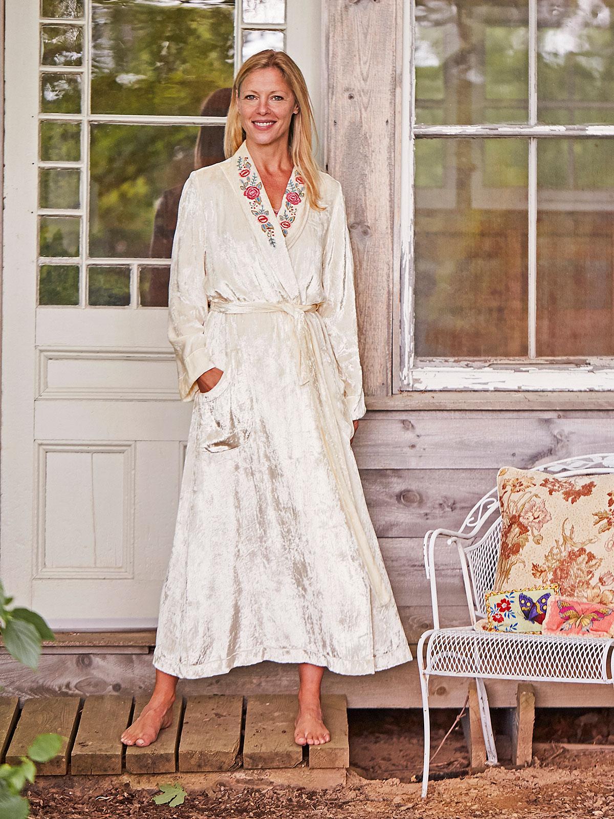 Buttercream Dressing Gown