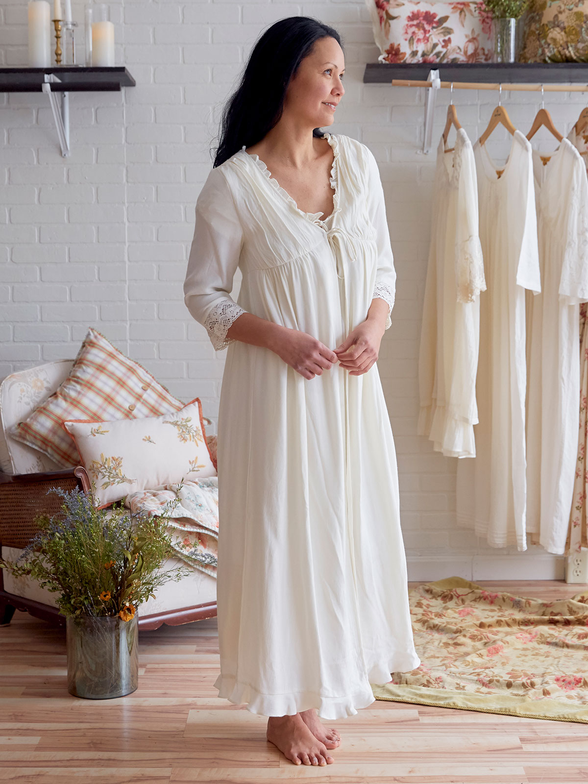 Clothilde Dressing Gown