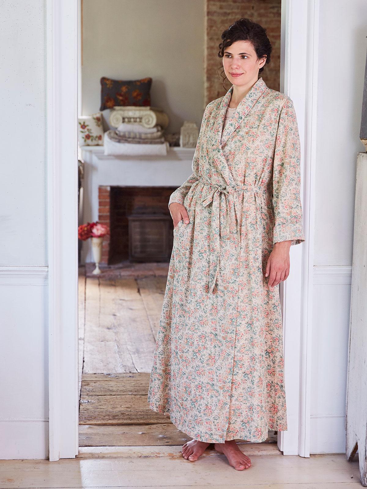 Rose Garden Dressing Gown