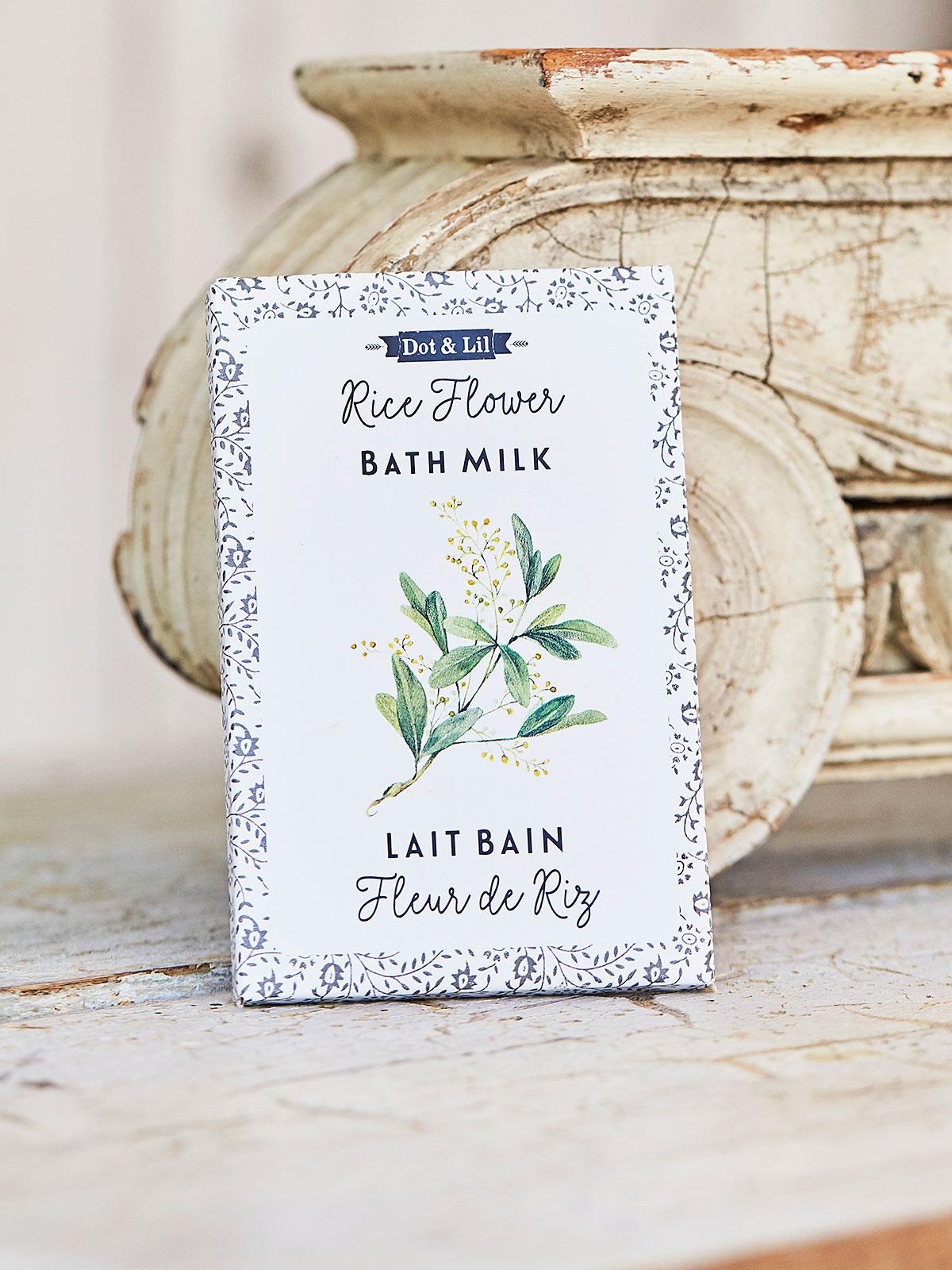 Rice Flower Bath Sachet