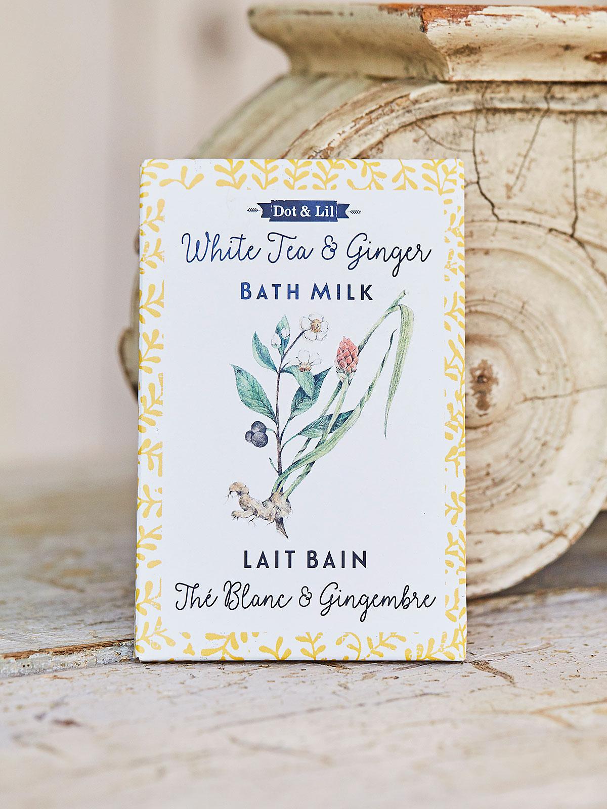 White Tea & Ginger Bath Sachet