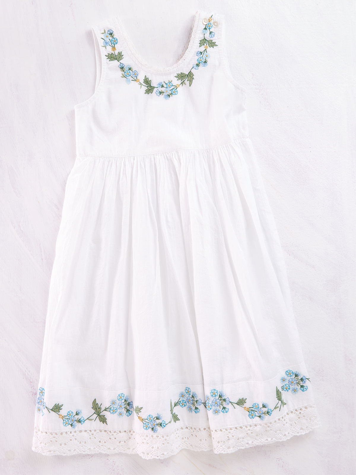 Forget Me Not Girls Dress