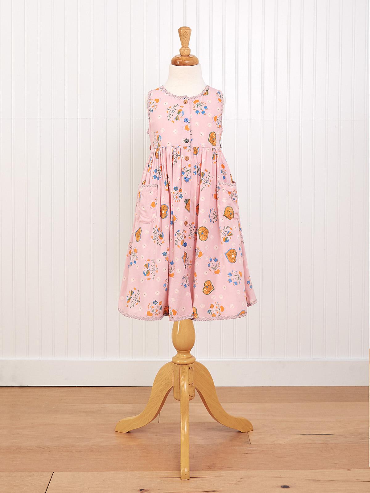 Folklore Girls Dress