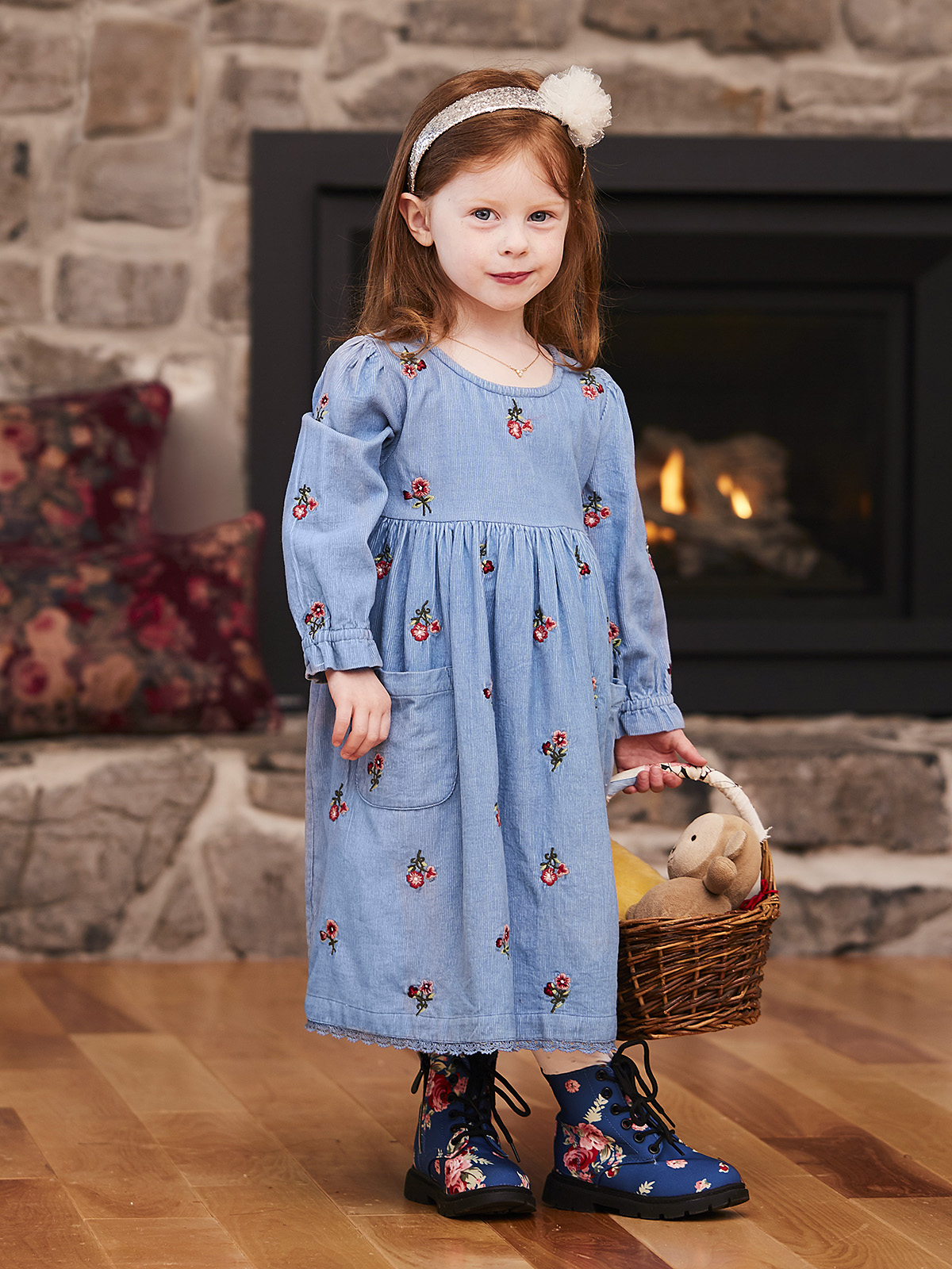 Fiona Girls Dress