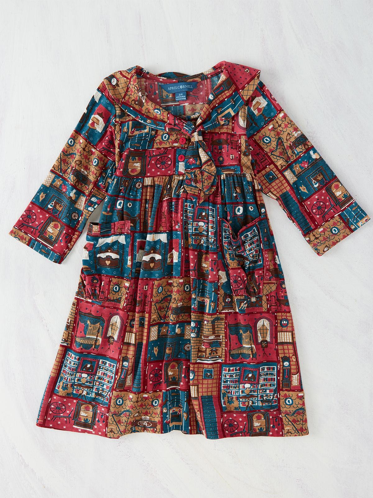 Parlour Jersey Girls Dress