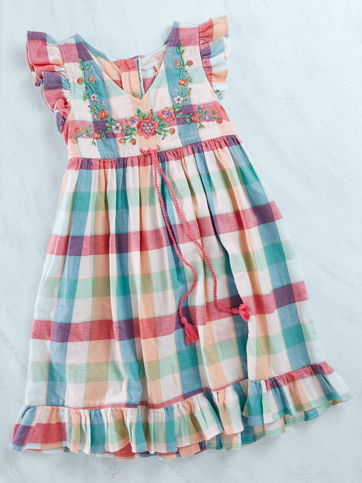 Macaroon Girls Dress