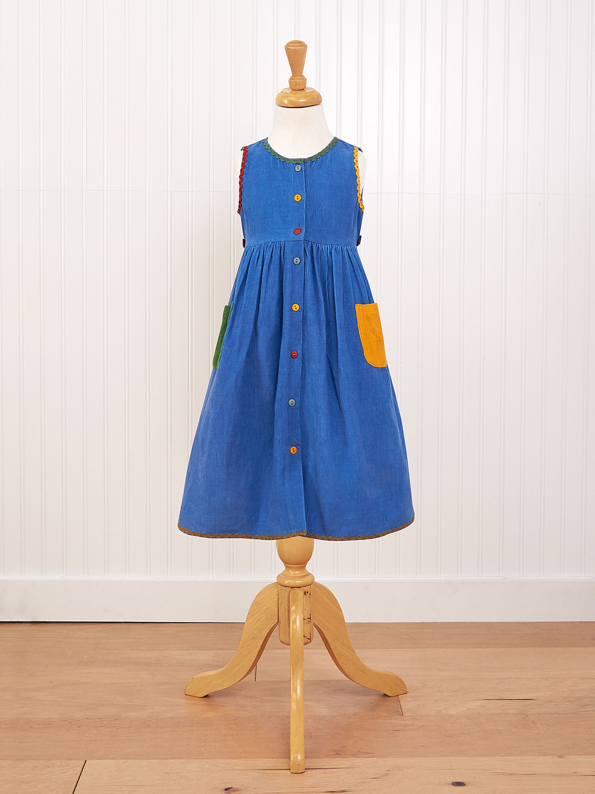 Back to School Girls Dress