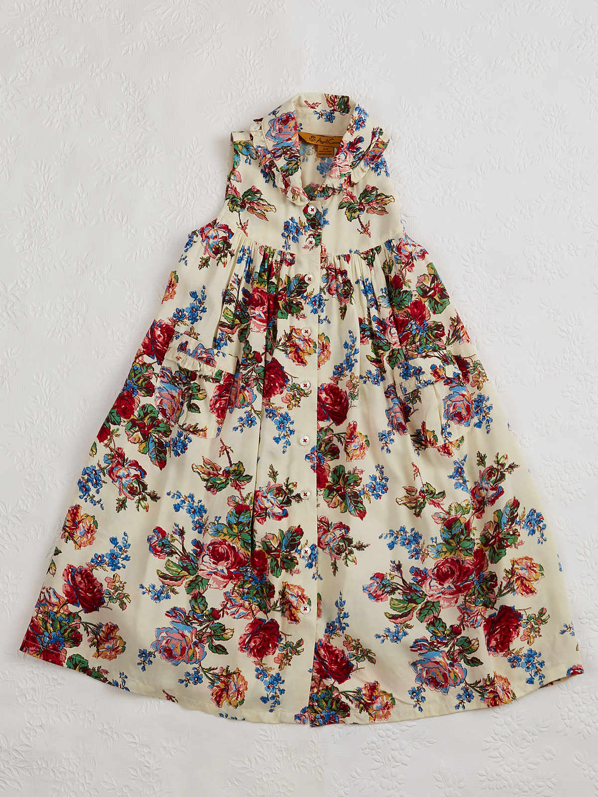Victorian Rose Girls Dress