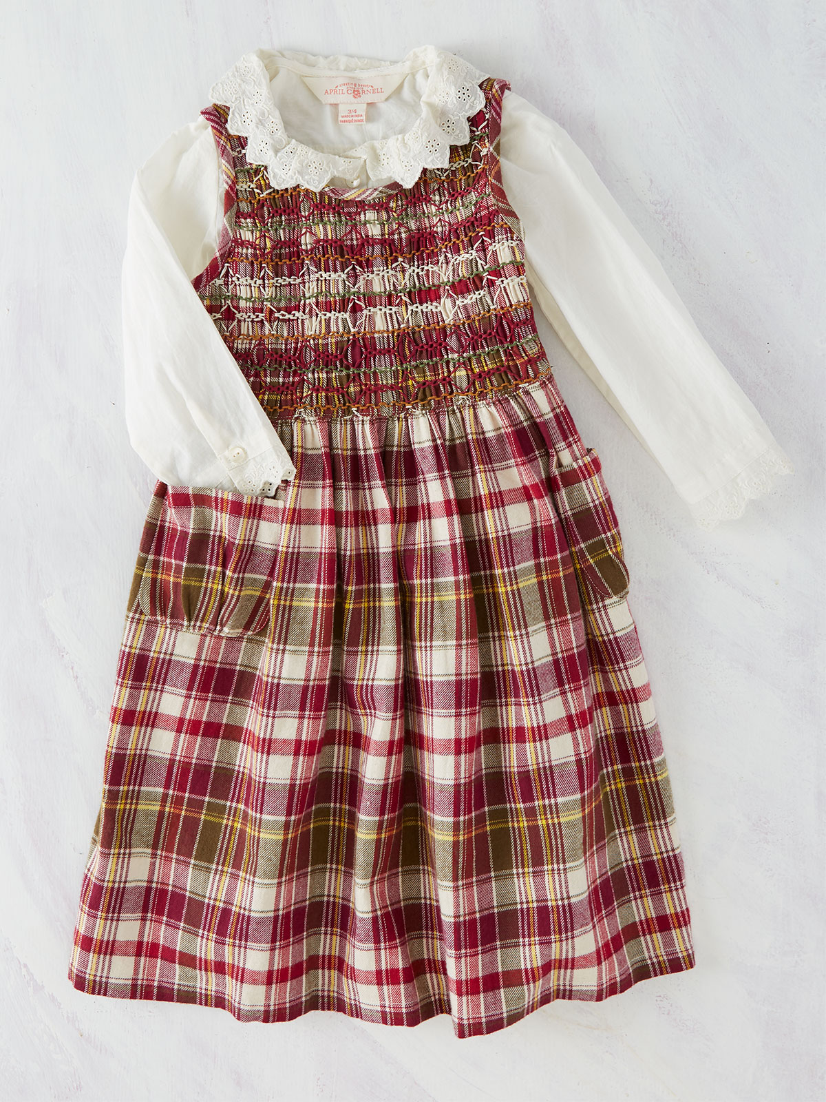Portland Plaid Girls Dress