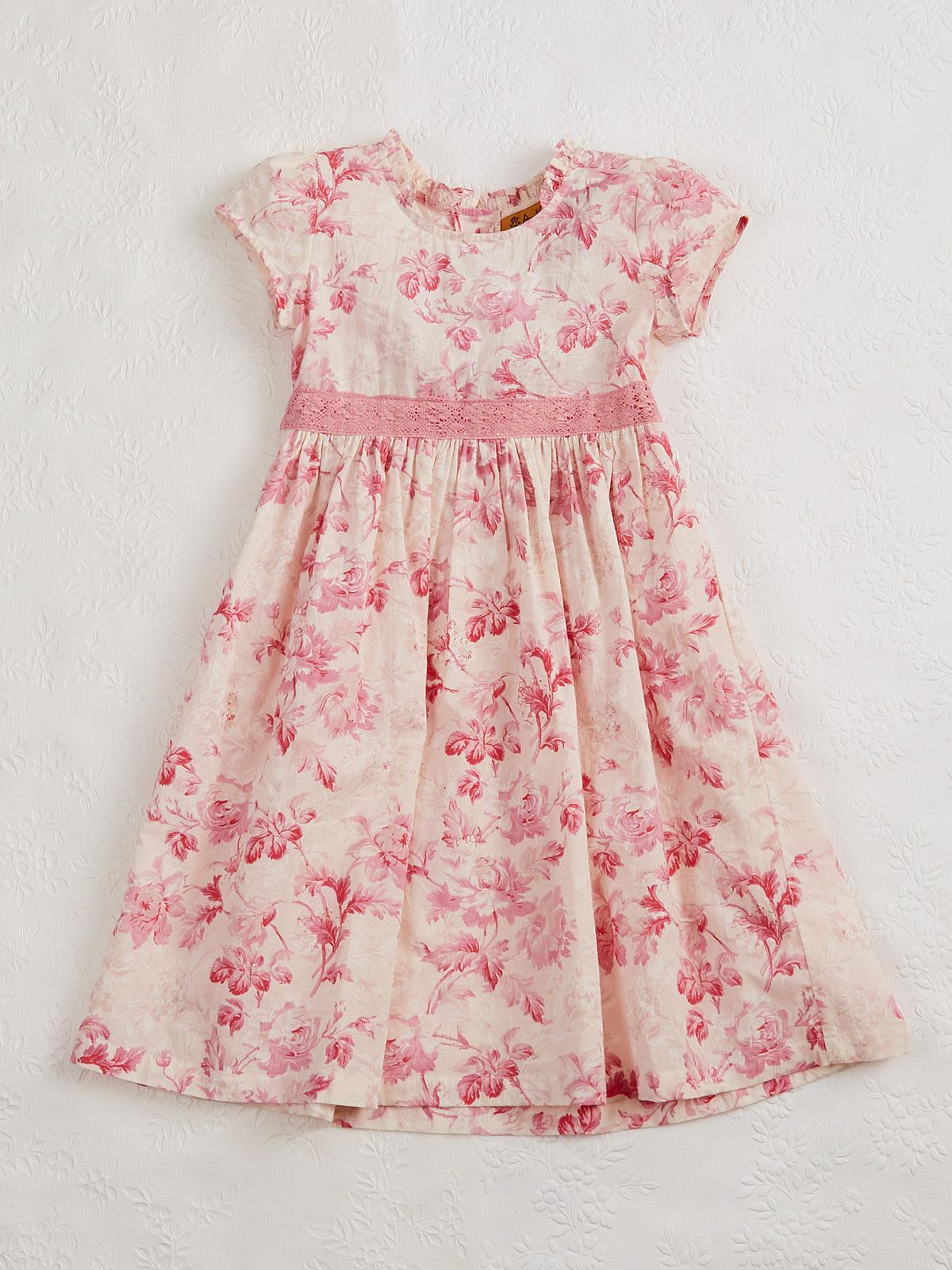 Pink Cloud Girls Dress