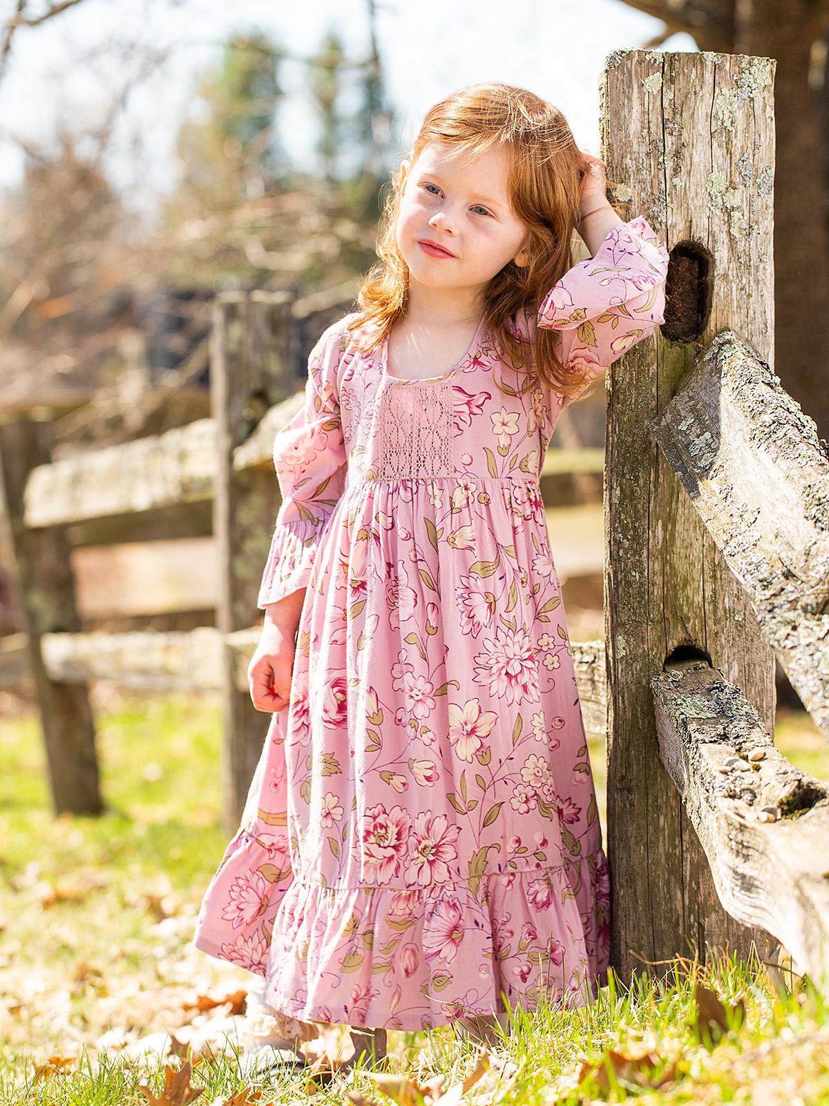 Sunday Rose Girls Dress