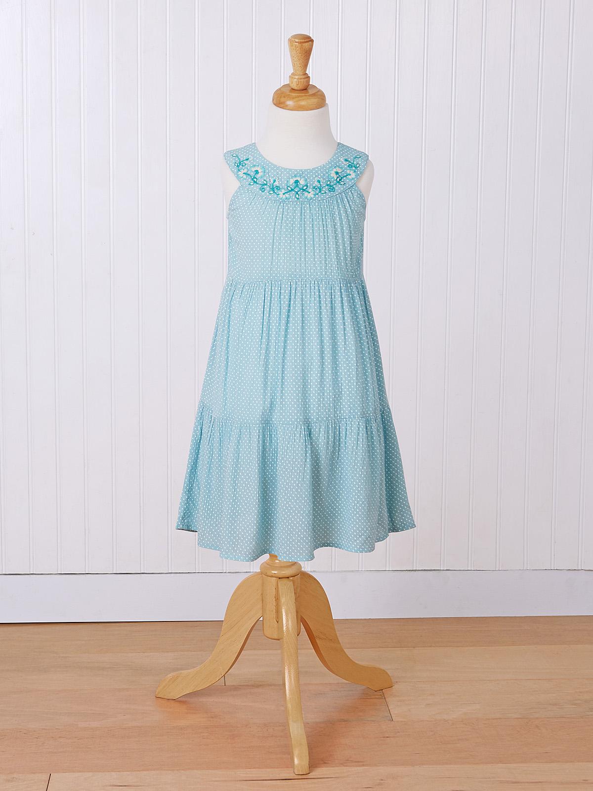 Ella Dot Girls Dress