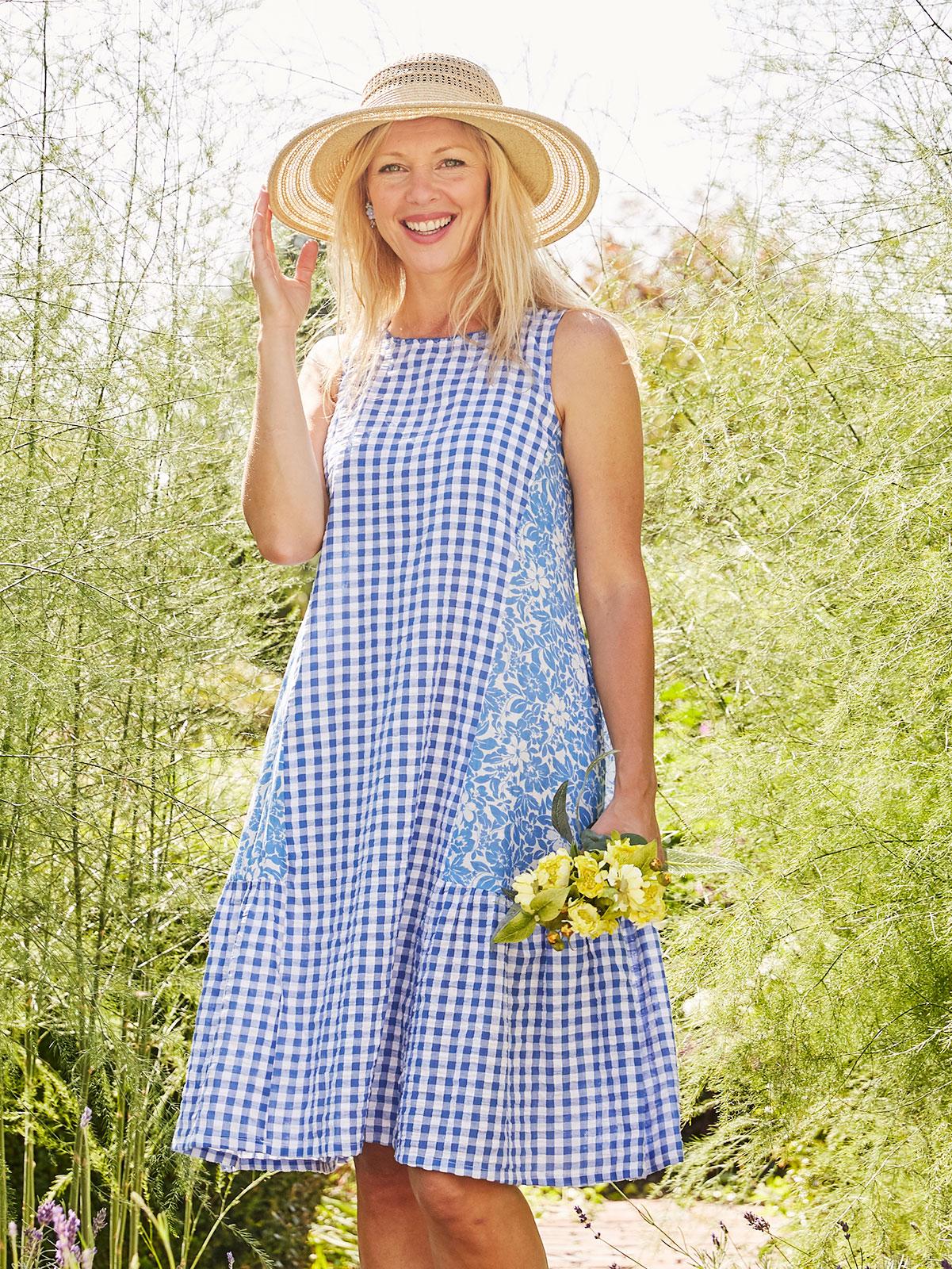 Maggie Seersucker Dress