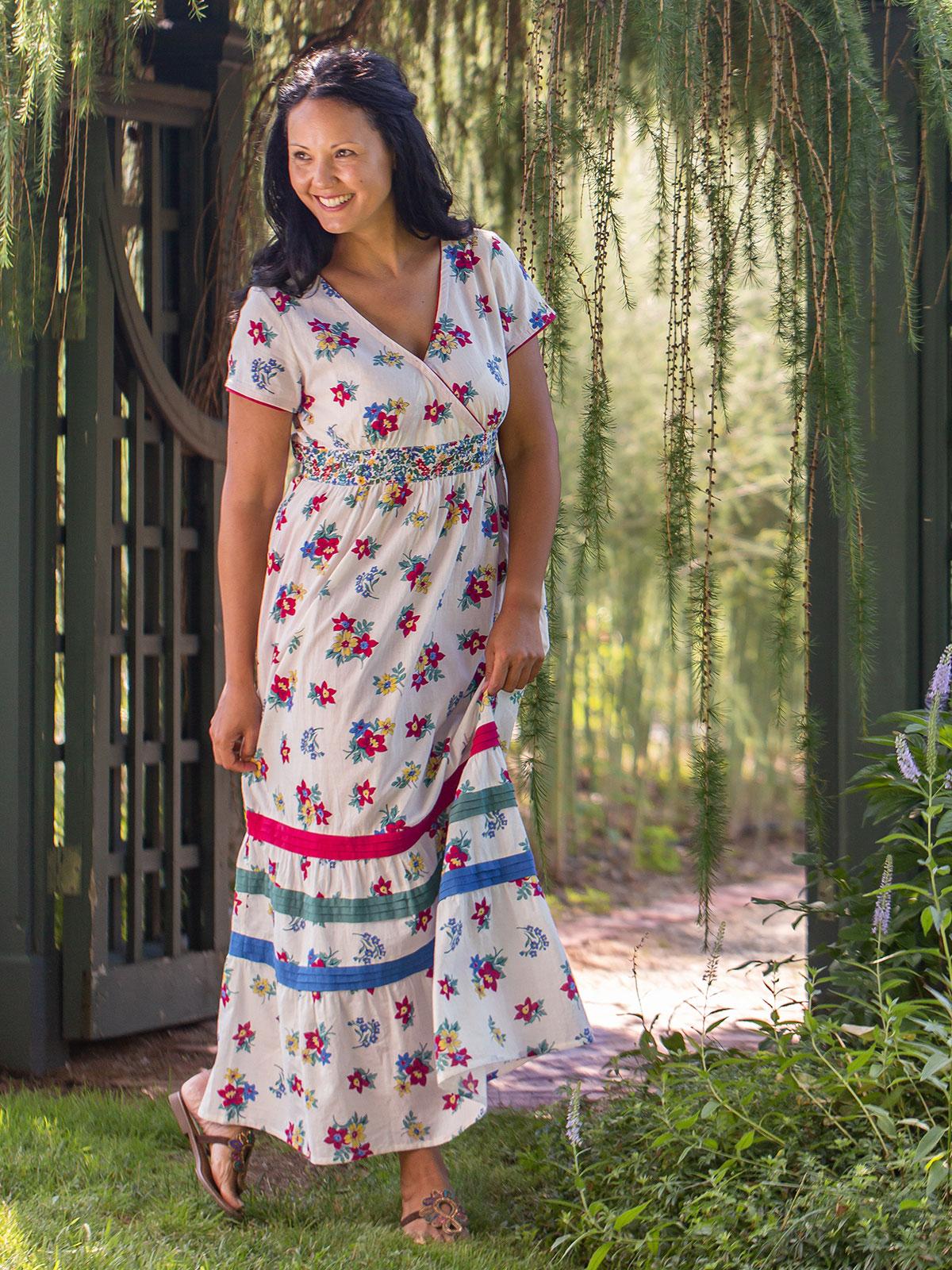 Prairie Floral Long Dress