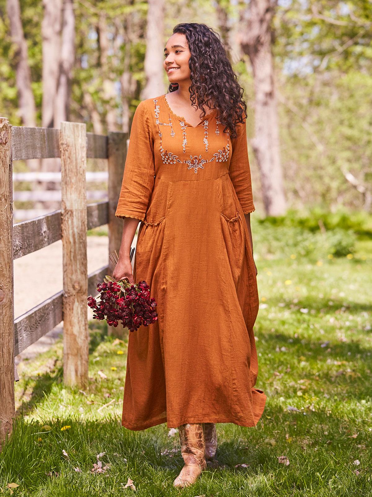 Posie Prairie Dress
