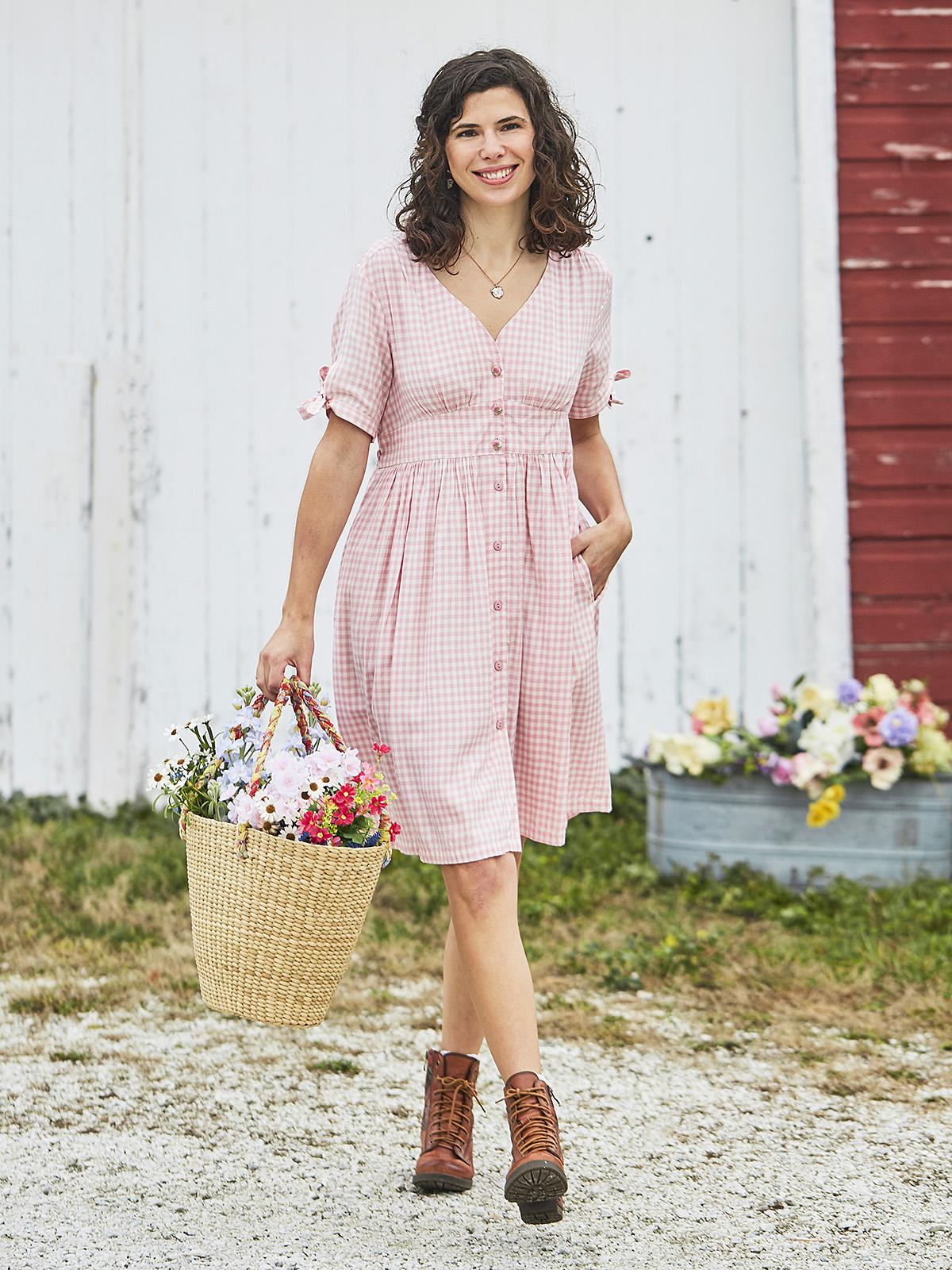 Julianna Check Dress