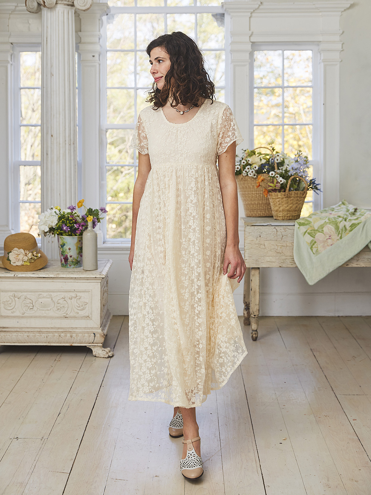 Mid Summer Lace Dress
