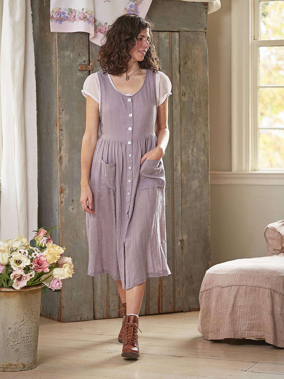Mori Girl Pinafore Dress