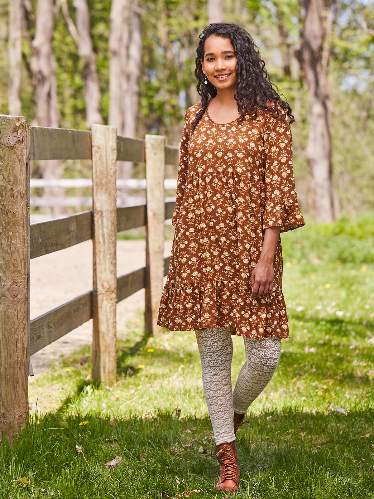 Prairie Blossom Short Dress