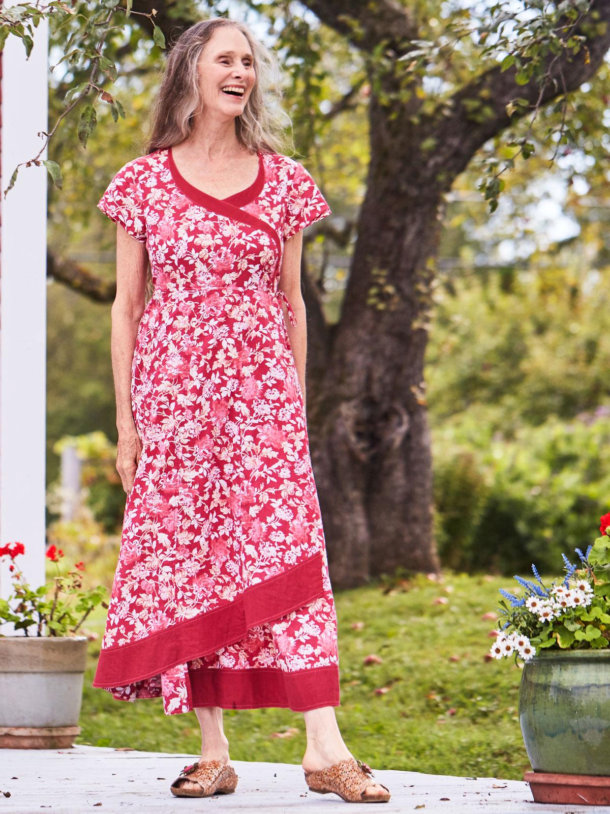 Flora Hostess Dress