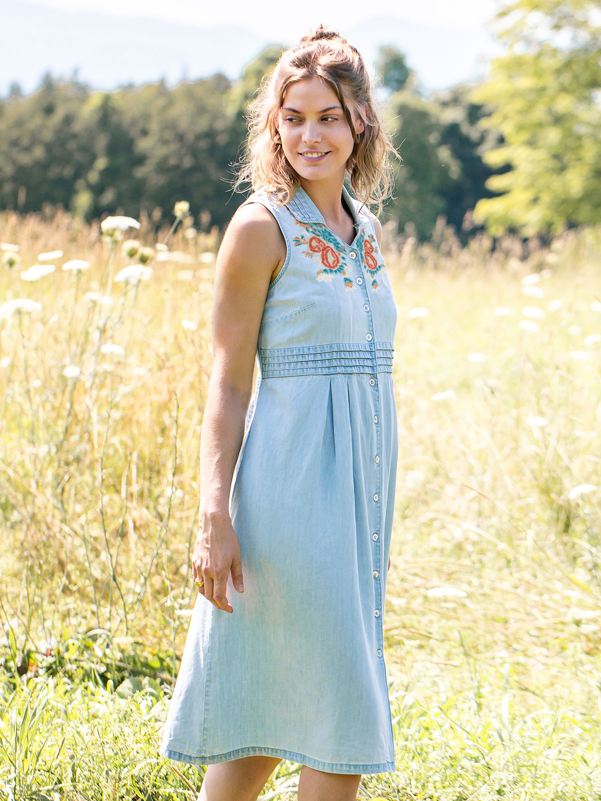 Jenny Denim Dress