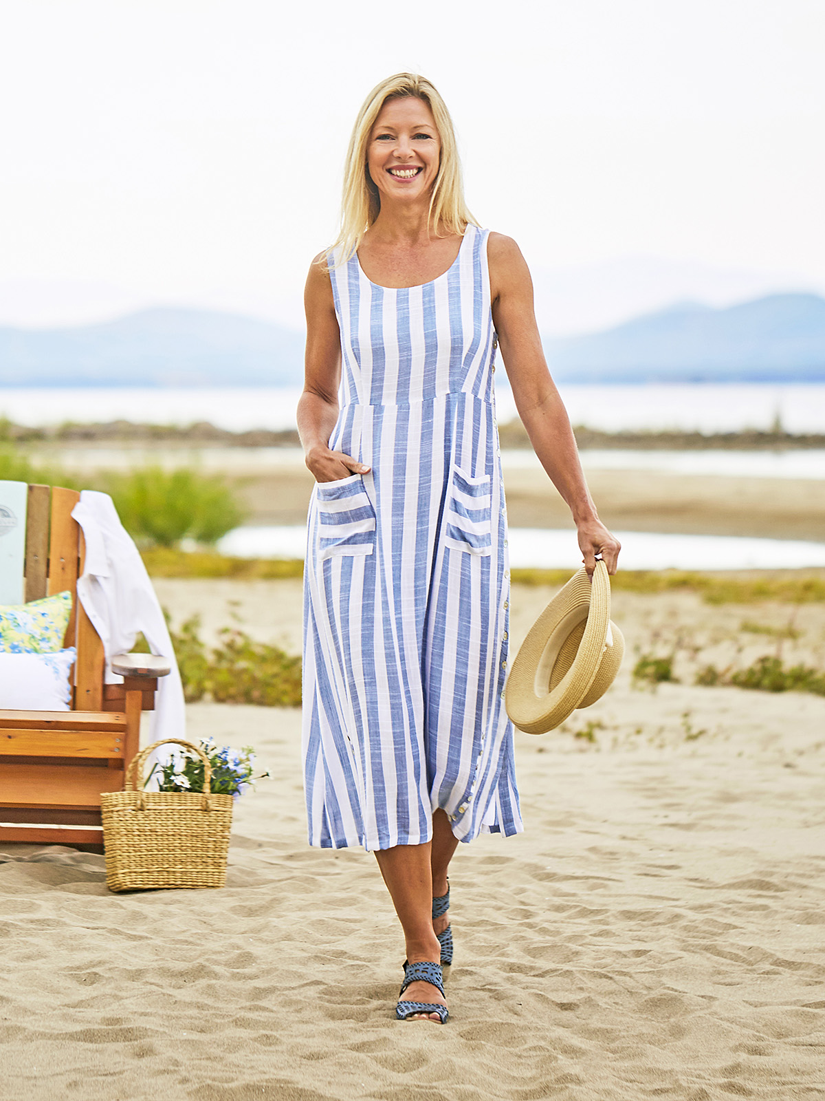 Bahama Stripe Dress