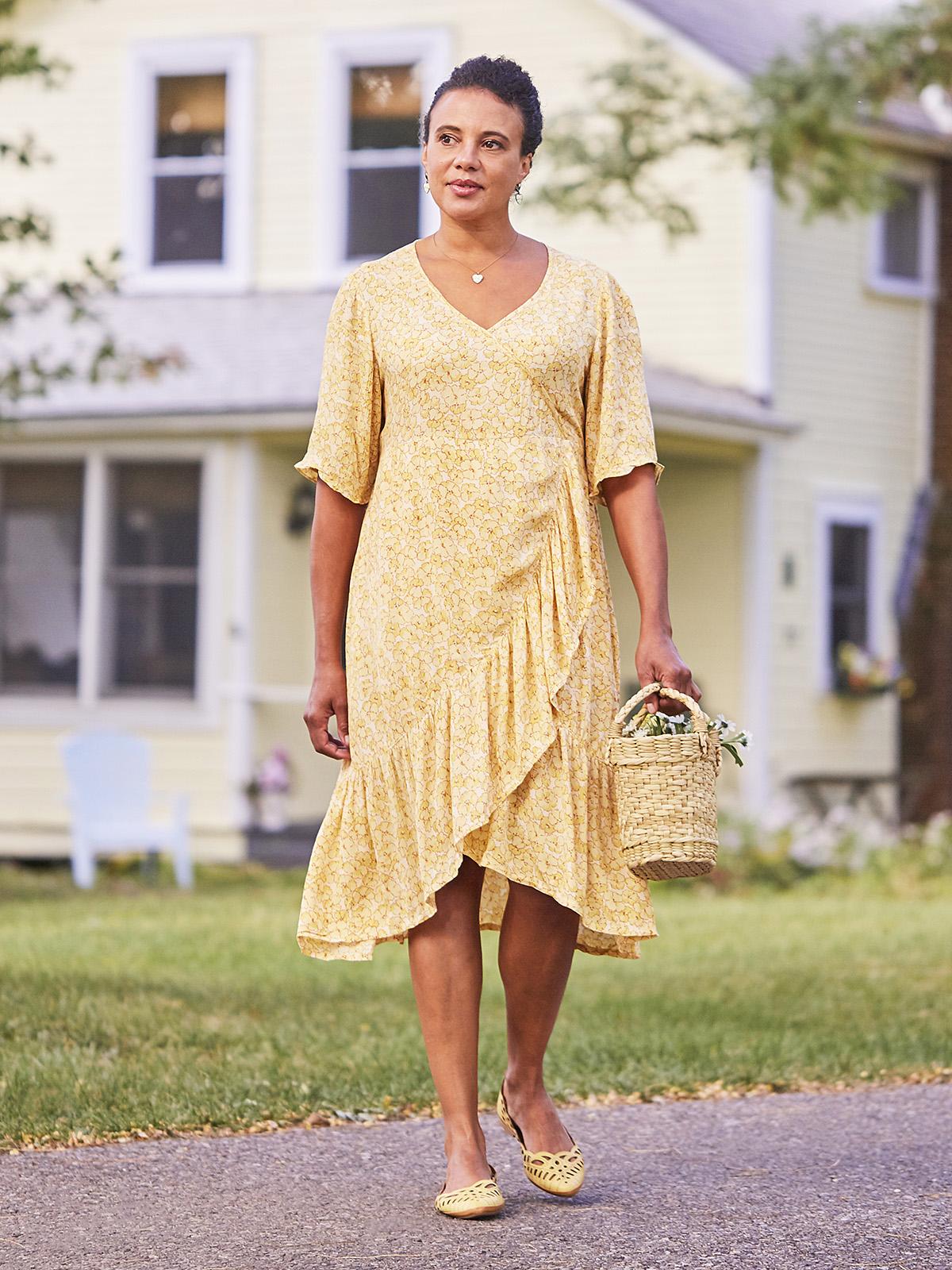 Margaux Wrap Dress