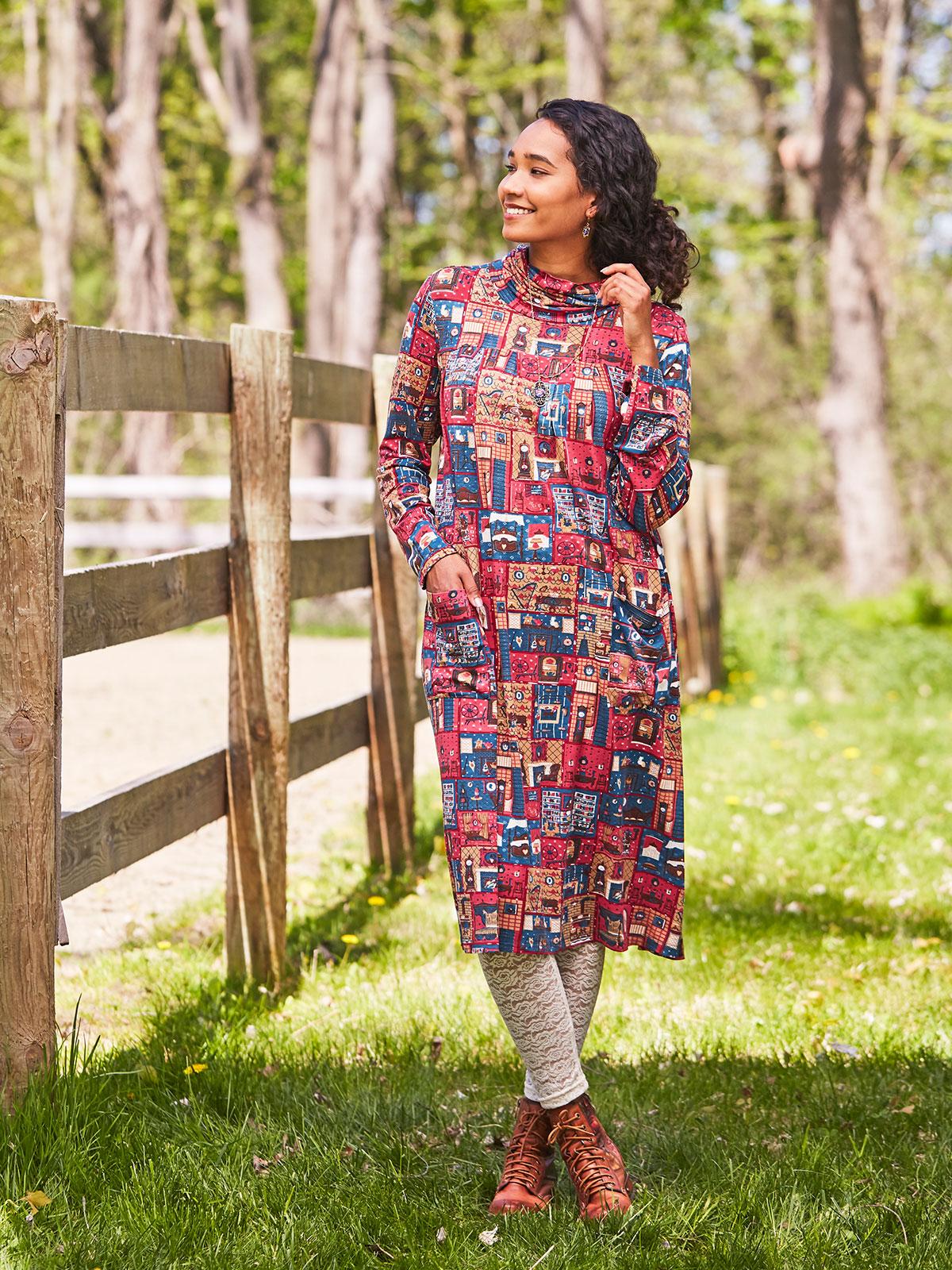 Parlour Tunic Dress