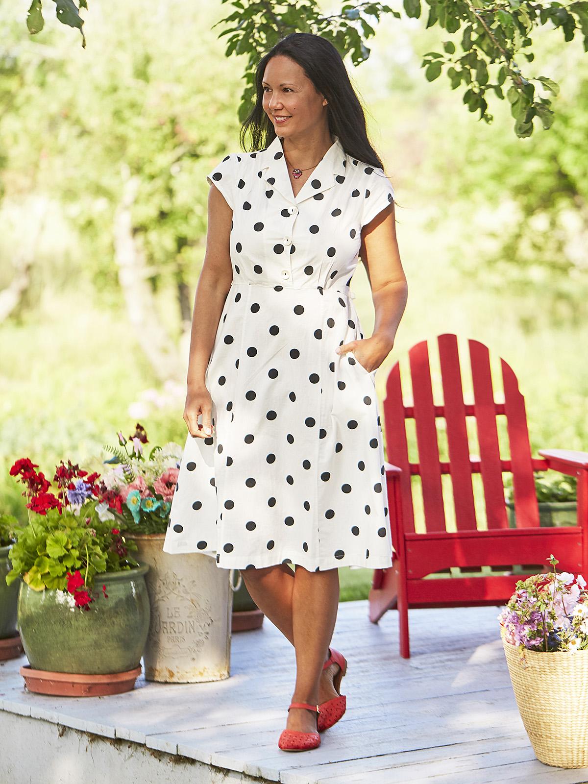 Sadie Dot Porch Dress