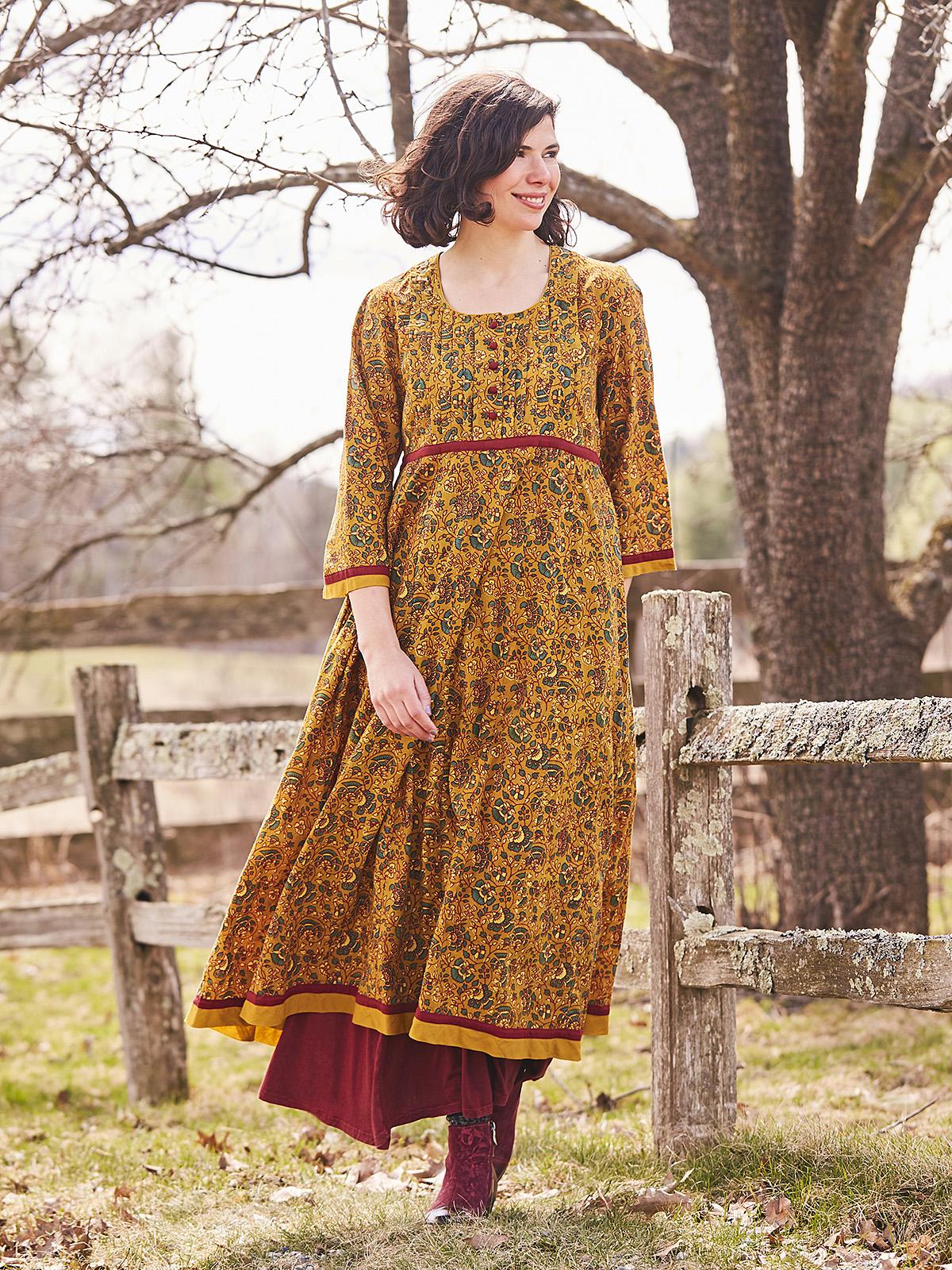 Goldflower Dress